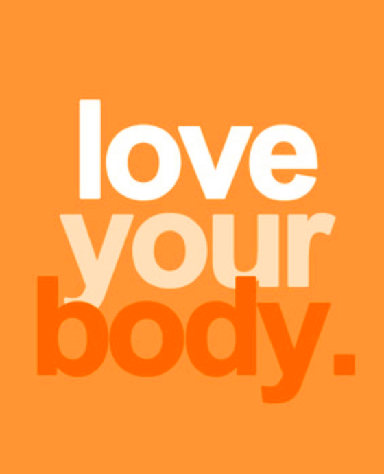 love your body positive body image promotion